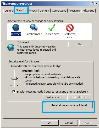 """How to fix """"Internet explorer has stopped working"""""""