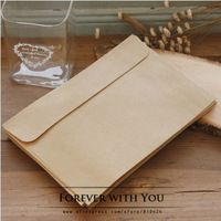 2014 Free shiipping kraft paper envelope for wedding gift packaging envelopes 50pc/lot 16*11cm