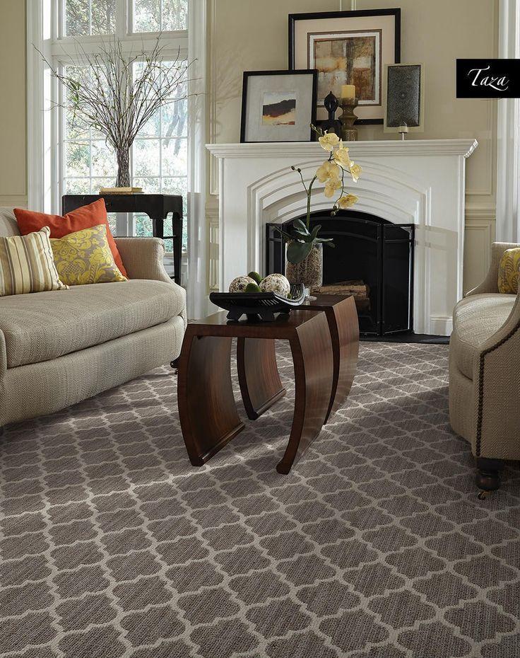 Red Grid Patterned Rug Color Scheme Ideas | Modern rugs ...
