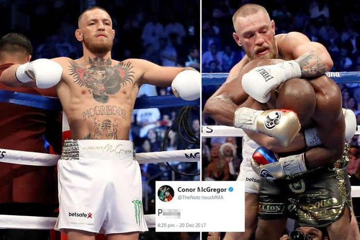 CONOR McGREGOR has labelled Floyd Mayweather a p***y after showing to backtrack on switching to MMA. Boxing legend Mayweather had claimed he was mulling over popping out of retirement by embarking on a new profession contained in the octagon.   Instagram/Conor McGregor   Conor McGregor tweeted...