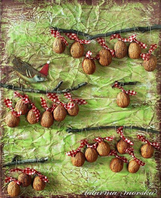 Education Joyeuse*: Calendriers de l'Avent, Autre variante autour des noix.