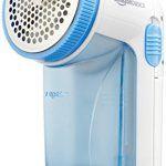 AmazonBasics Rasoir anti-peluches: Rasoir anti-peluches avec une brosse de nettoyage, un capuchon de réglage de la hauteur et 2 piles de…