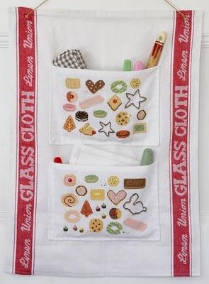 Biscuits cross stitch sampler!