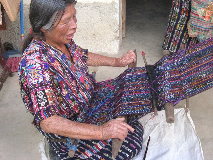 Mayan weavers are recognized as talented textile artists ...