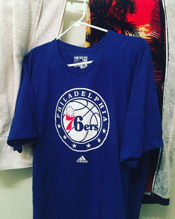 Go Sixers! #hoops #Sixers #NBA #philadelphia #76ers #tshirt # #tee #embiid #simmons #blue #red #colors #photography #instagood #instagram #instadaily #instapic #instaphoto #share #like #follow #TrustTheProcess #basketball #GoSixers #photooftheday