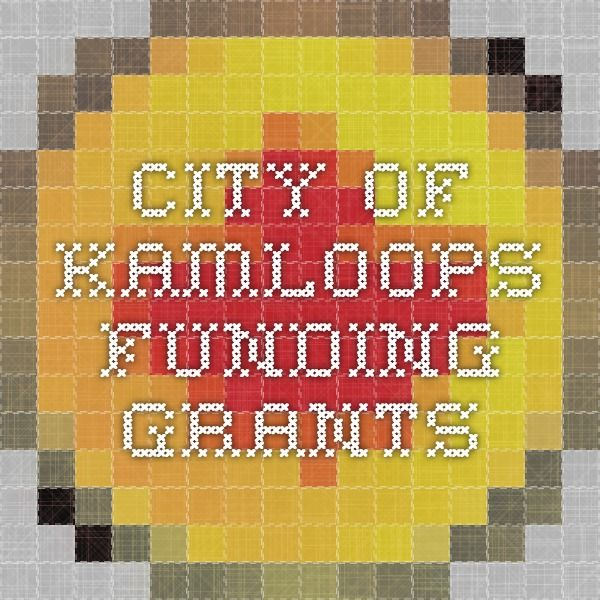city of Kamloops funding grants