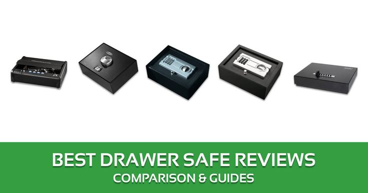 Best Drawer Gun Safe Reviews, Comparison & Guides – 2017 Buyer's Guide