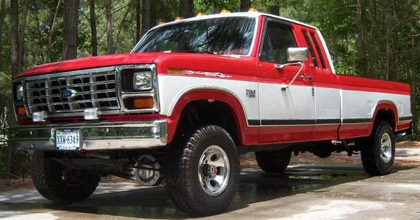 """79 Ford Crew Cab For Sale >> """"1985 ford f-350"""" crew interior   Pictures of red/white or grey/red two-tone - Page 2 - Ford ..."""