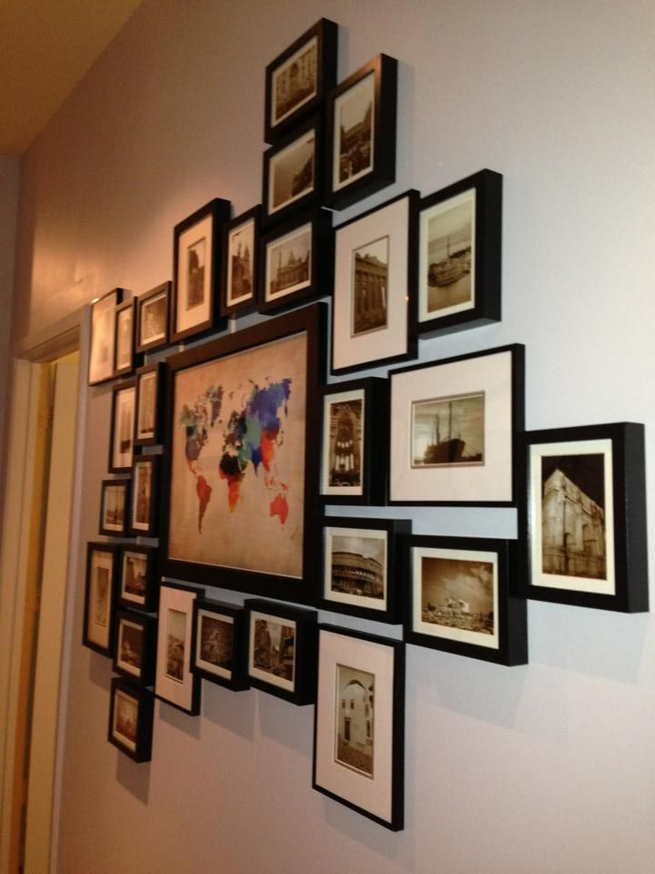 25 Best Ideas About Travel Photo Displays On Pinterest