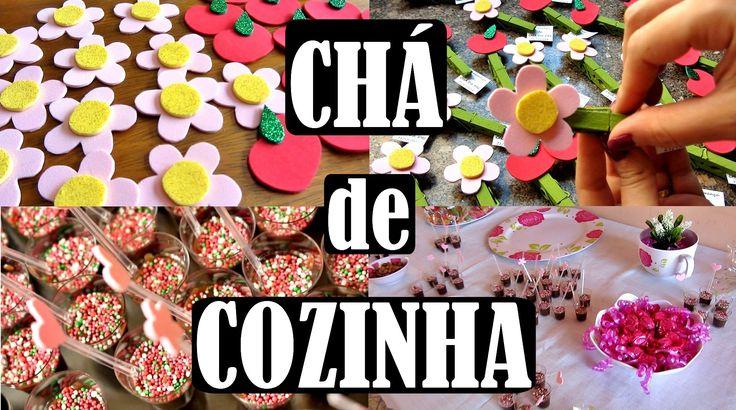 Chá de Cozinha - FAÇA VOCÊ MESMO #30DiasAntesDos30Anos