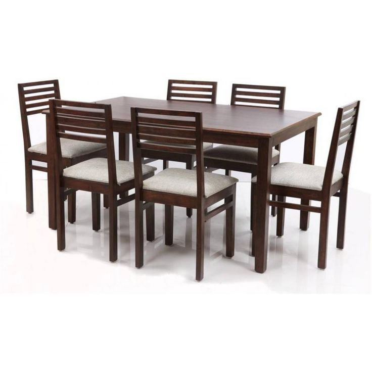 White Seated Six Pair Of The Dining Table Online India. Pure Indian  Product. Comfortable