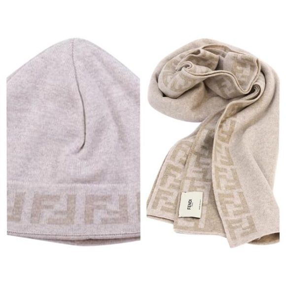 Fendi scarf and hat New with tags. Fendi hat and scarf. Available in other colors. FENDI Accessories Scarves & Wraps