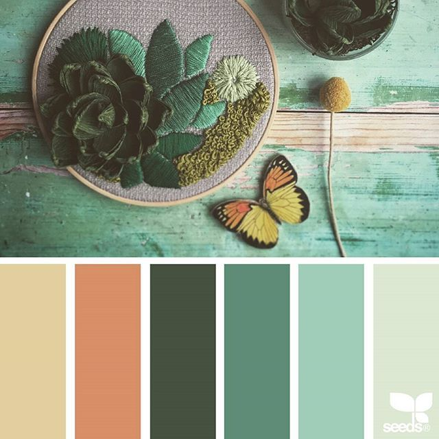 today's inspiration image for { botanical hues } is by @paperbeacompany ... thank you, Helen, for sharing your wonderful photo in #SeedsColor !