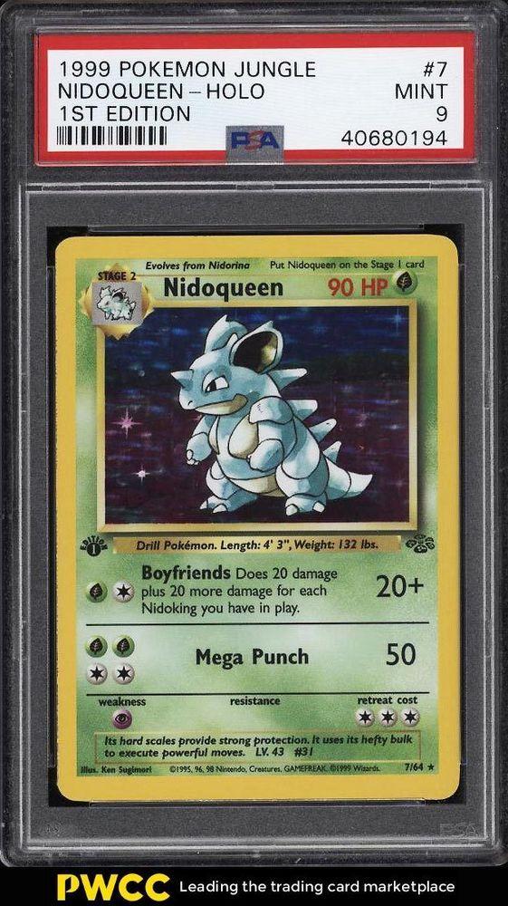 pokemon nidoqueen card - 561×1000