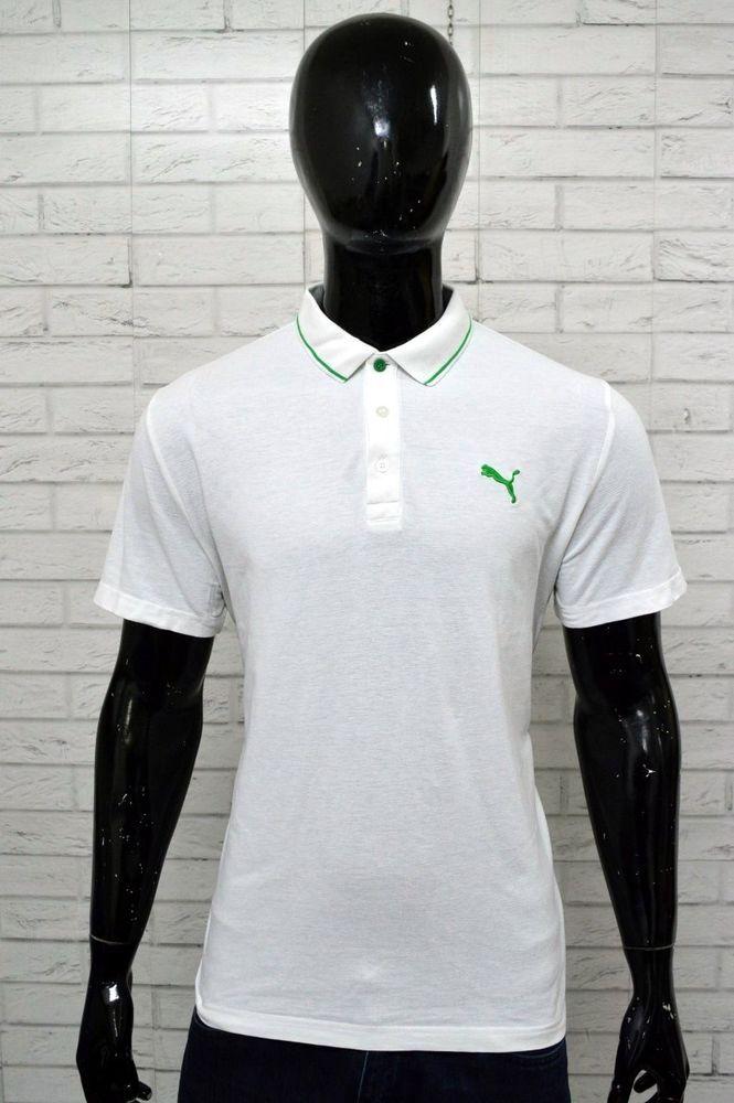 PUMA Polo Sport Polo Camicia T-SHIRT MAGLIETTA a Maniche Corte S-XXL UOMO