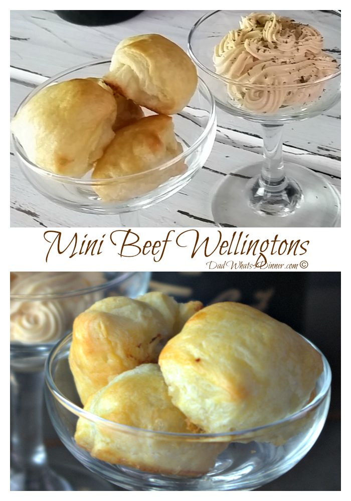 Mini Beef Wellingtons | http://dadwhats4dinner.com/