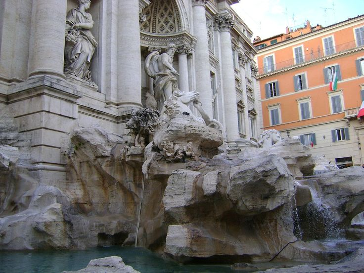 The Trevi Fontain - Rome