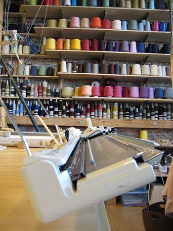 The knitting school!