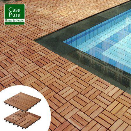 Deck Tile Interlocking Patio Tiles