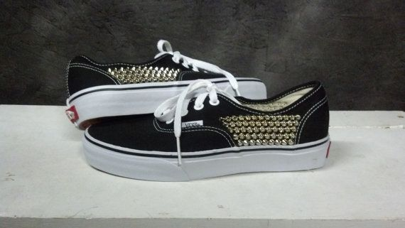 Studded VANS Shoes by CustomStudded on Etsy, $95.00