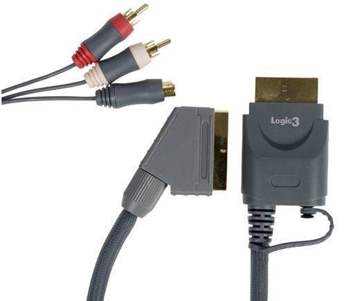 Xbox 360 RGB Scart-Kabel für XBox 360 Neu