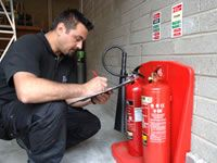 Fire Extinguisher and Fire Hose Reels Testing