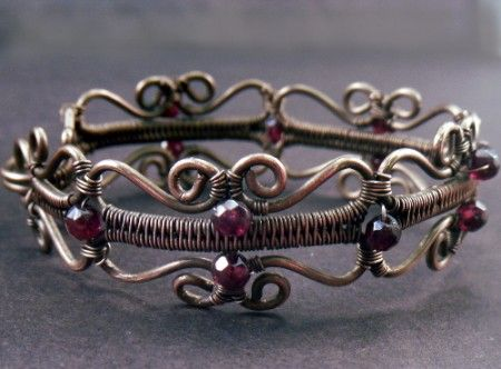 "AMRoberts: The ""Emily"" Bracelet 1"
