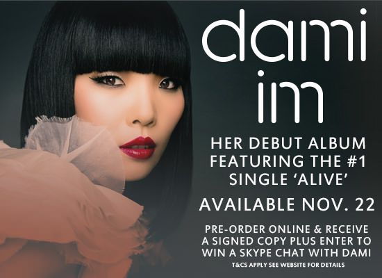 Watch: Dami Im - Debut Album out on November 22, 2013