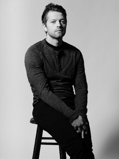 This man is just so beautiful.  Misha Collins in Bello #52