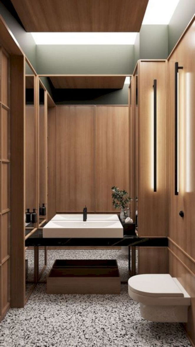 45 Top Spa Bathroom Design Reviews With Images Restroom Design Bathroom Design Public Bathrooms