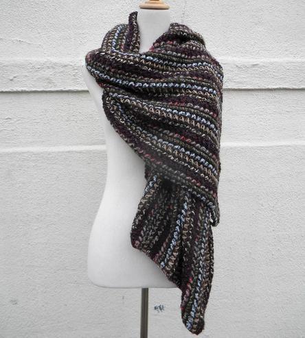 Cashmere Silk Scarf - Indigo Buds by VIDA VIDA 5e1sPwWdpQ