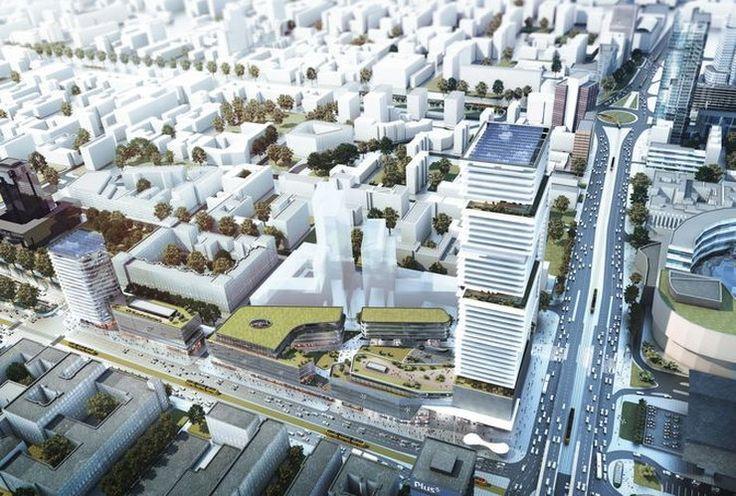 200-metrowy wieżowiec PKP w centrum Warszawy