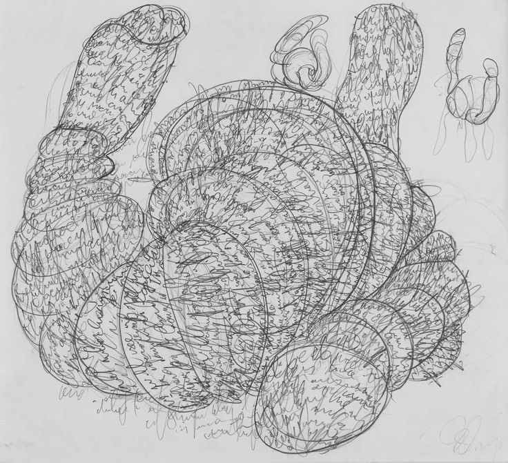 Tony Cragg's Drawings 03