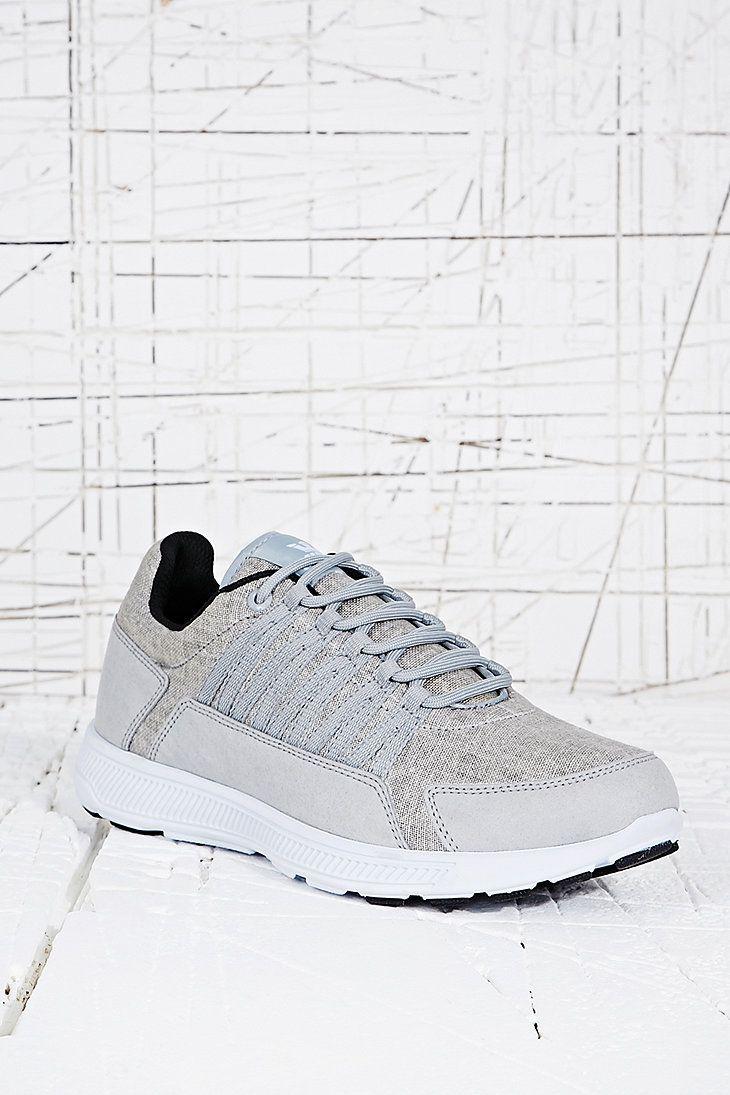 Supra - Baskets de course en toile grise