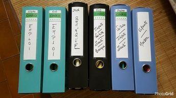 Comment classer les papiers administratifs - Phase 2 : Organiser