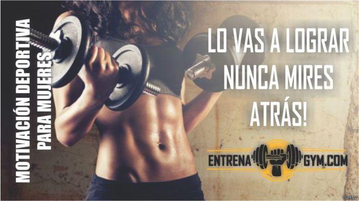 Si estas perdiendo ese impulso y ése ánimo deportivo, sabemos que uno de nuestros videos de motivación deportiva para mujeres, te será de gran utilidad pue