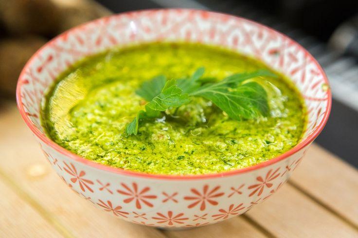 Salsa Verde do chef Roberto Ravioli