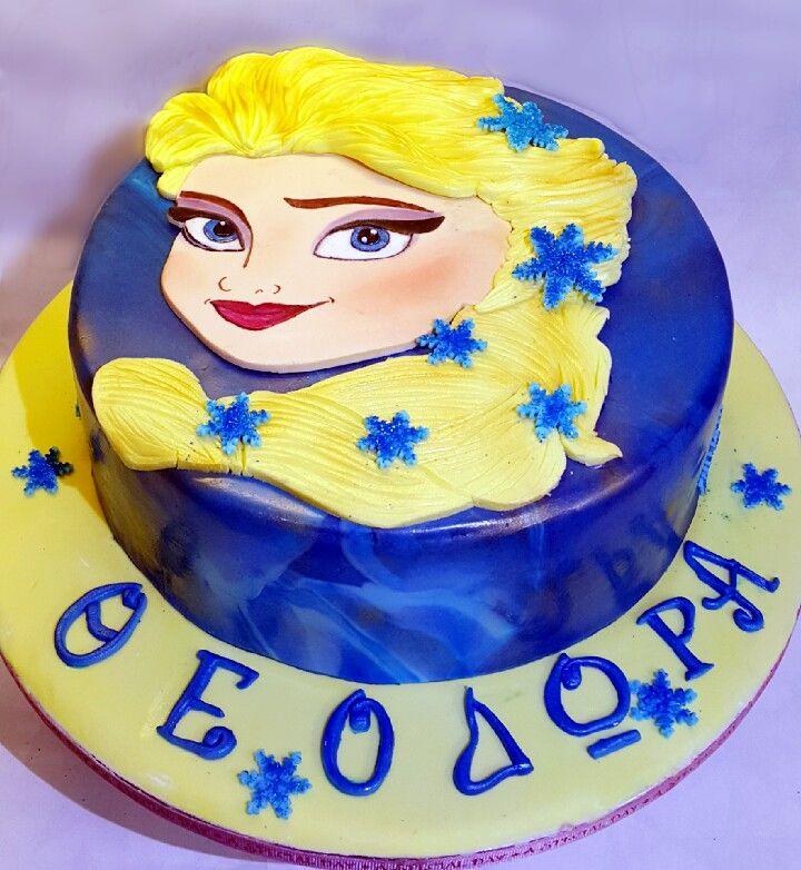 Elsa frozen custom homemade cakes
