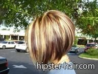 short, brown, blond, highlights, lowlights hair at Hipster Hair : Hairstyle Photo Search