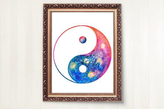 YIN YANG ART Yin Yang Symbol Mandala Art by MariammeArtwork