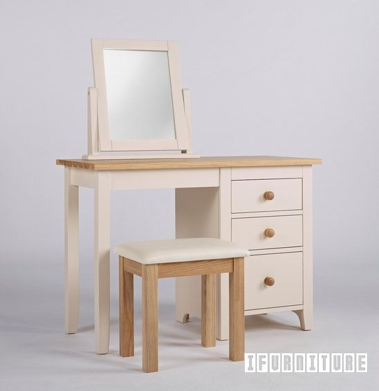 CAMDEN Single Pedestal Dressing Table / Desk *Solid Ash Top , Bedroom, NZ's Largest Furniture Range with Guaranteed Lowest Prices: Bedroom Furniture, Sofa, Couch, Lounge suite, Dining Table and Chairs, Office, Commercial & Hospitality Furniturte
