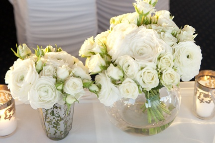Stunning white florals by Touched By Angels www.touchedbyangels.com.au