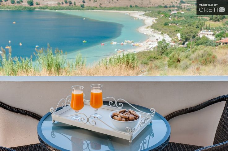Villa REA with view to the lake and White Mountains, Kavallos | Cretico