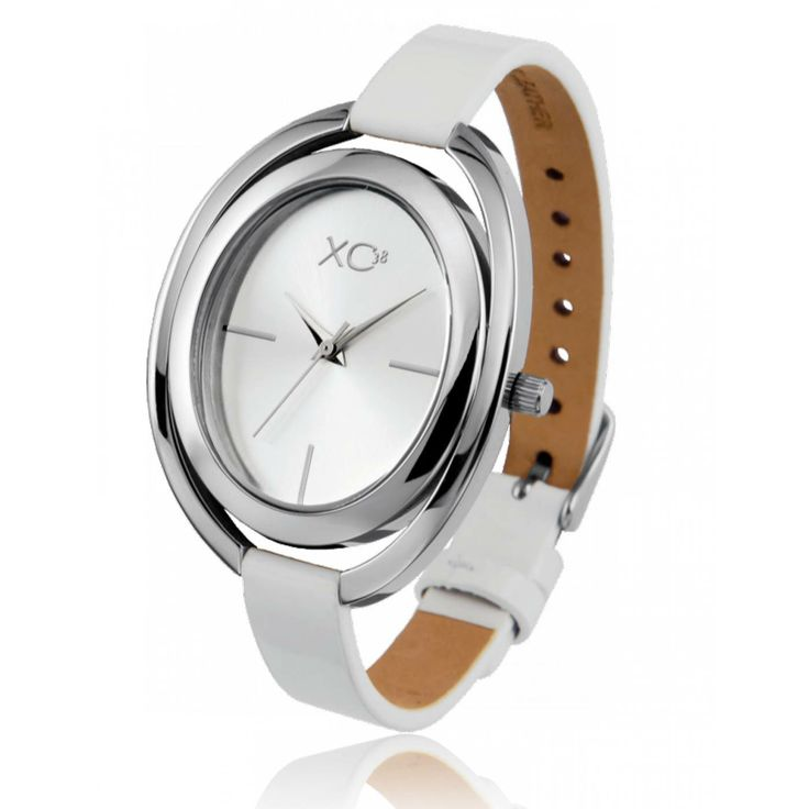 Ladies stainless steel STEPPES white watches - Xc38