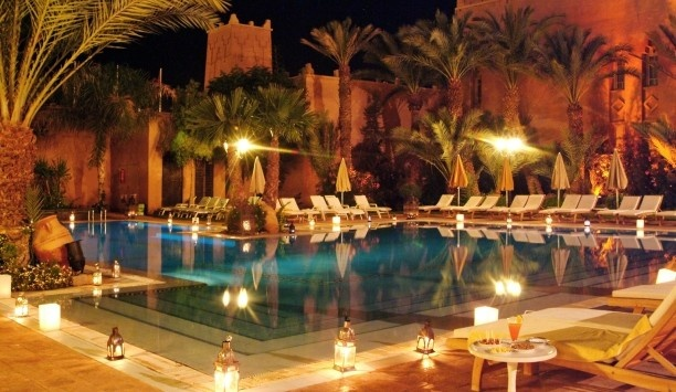 Marrakech....another possibile hot spot.
