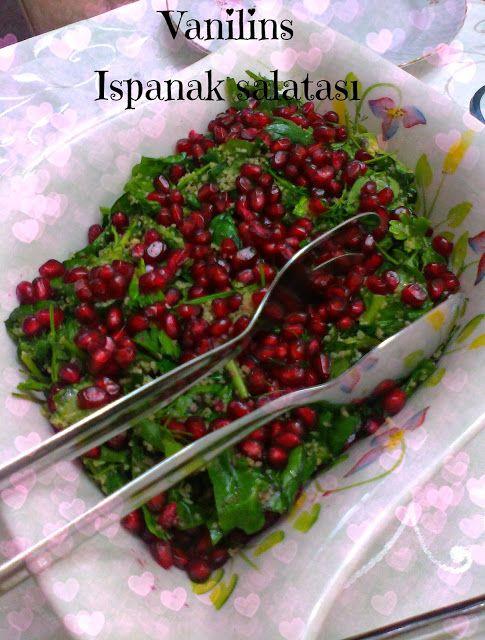 Ispanak salatası (narlı) | Vanilins