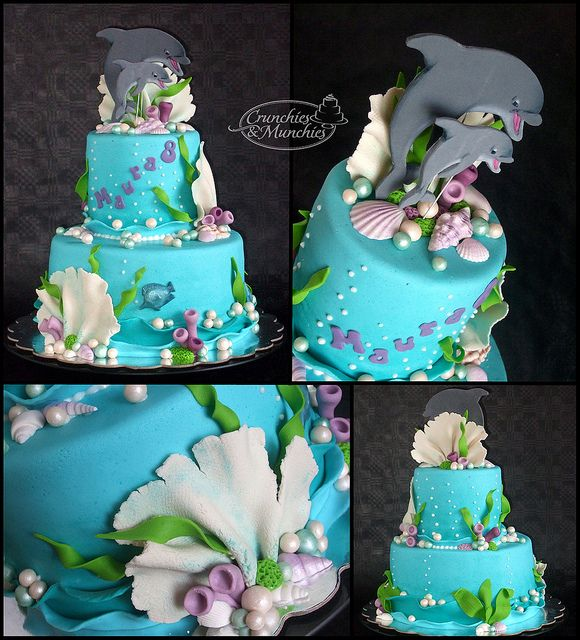 And another dolphin cake