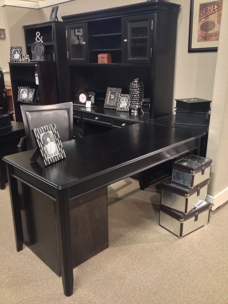 carylyle 5 piece home office set includes tall desk. Black Bedroom Furniture Sets. Home Design Ideas