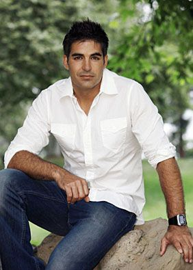 "Galen Gering  --  A soap star who playes  Rafe Hernandez on Days of Our Lives.  There aren't too many guys as good as Rafe in ""real life.""  ;)"