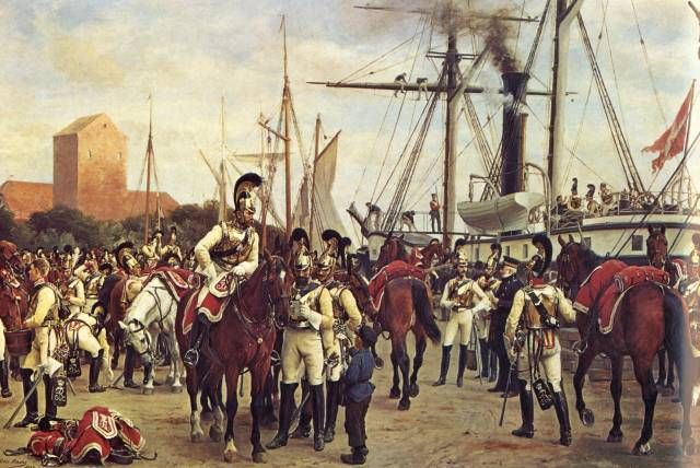 Otto Bache - Den kongelig danske hestgarde 1848.